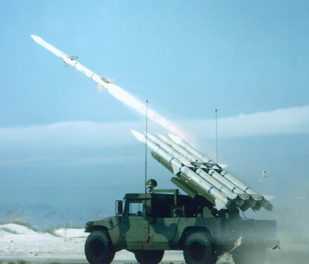 미 육군/해병대 SLAMRAAM 지대공미사일 체계 초..
