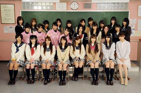 AKB48 총 출연, 니혼티비 9일 연속의 스페셜 학원 ..
