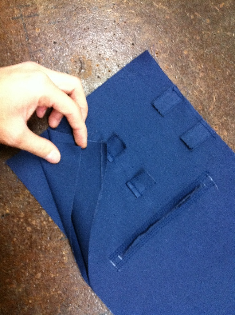 Rider Jacket Pocket Detail