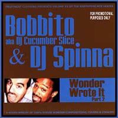 DJ SPINNA - Wonder Wrote It Disc 2