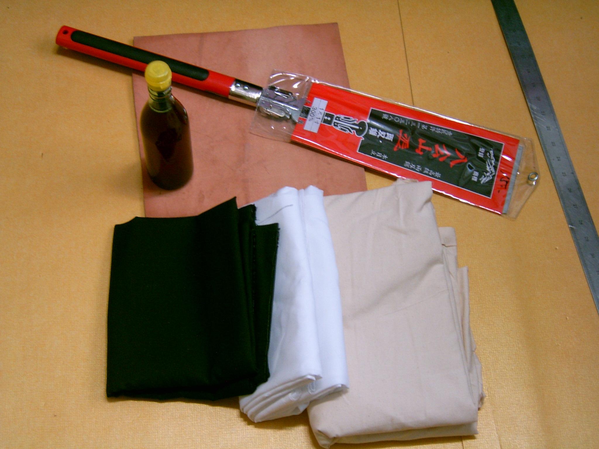 수화자(목화) 만들기2 - 재료준비