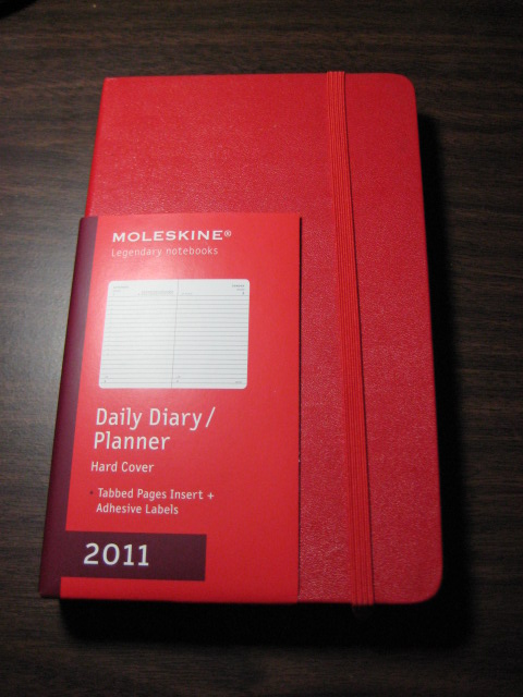 Moleskine Red Daily Planner