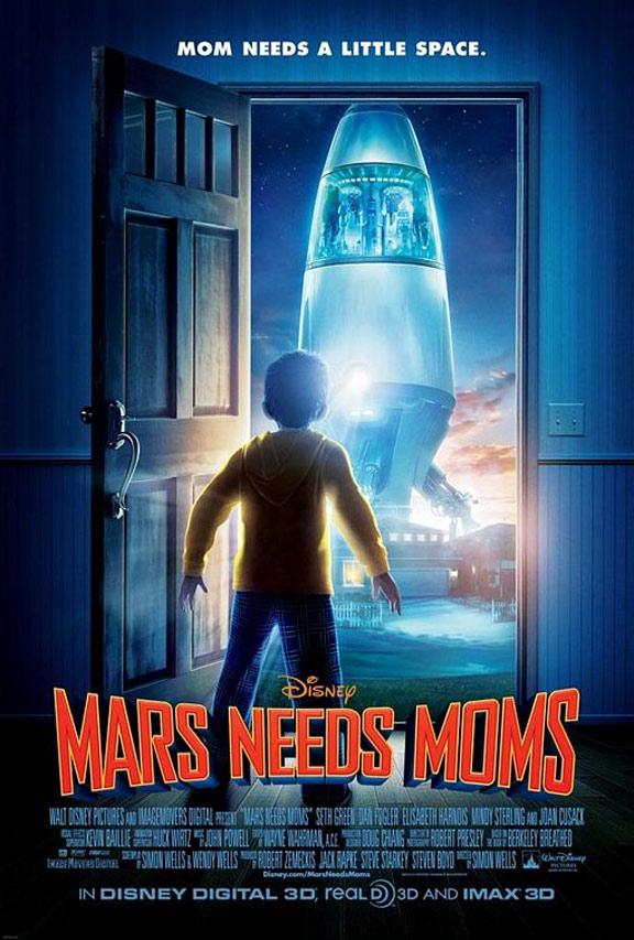 """""""화성에는 엄마가 필요해"""" 예고편입니다."""