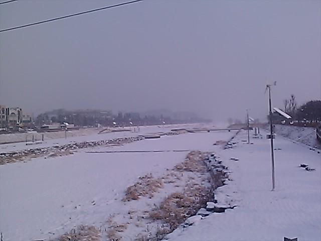 또 눈이 오네요