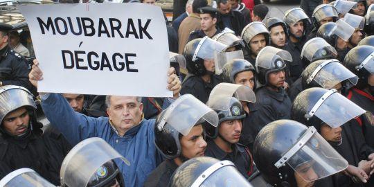 """[이집트]""""무바르크,꺼져!"""""""