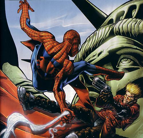 세기의 대결『스파이더맨』VS『트라이건』