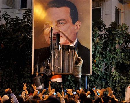 아무 일도 일어나지 않기를 바랐던 무바라크