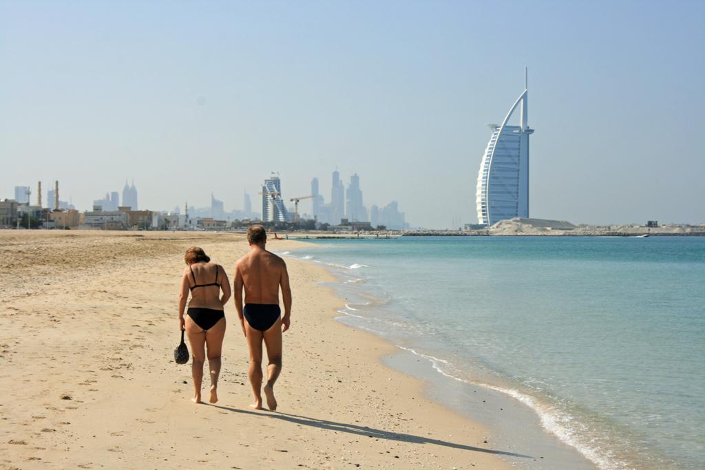두바이의 파라다이스...쥬메이라 비치.