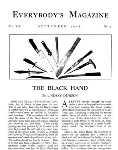 뉴욕 크라임 씬(3) - 1908년 이탈리안 블랙핸드...