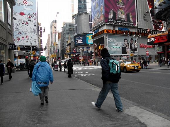 2010 첫 미국여행! 뉴욕으로~ TimesSquare에 가다!