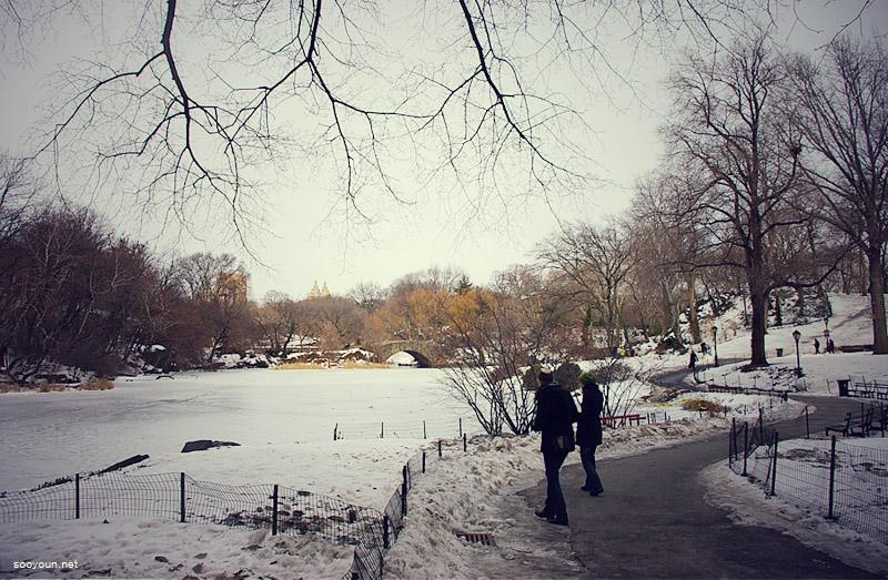 산책길, New York.