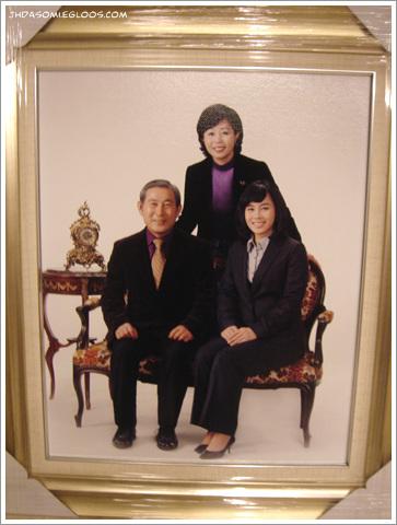 가족 사진.