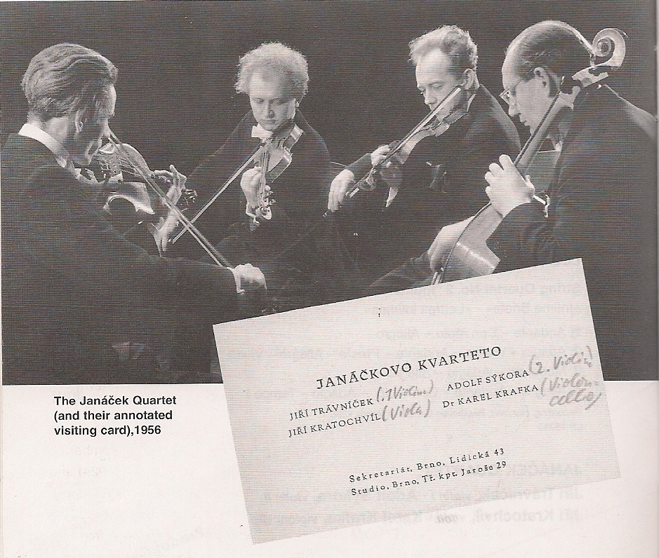 Janacek String Quartet; photo