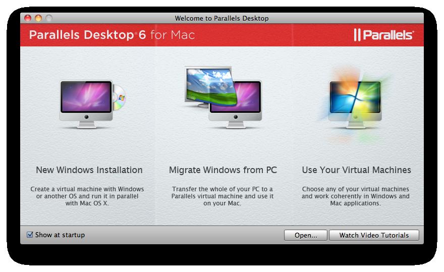 [OSX] Parallels 6 Desktop 사용하기