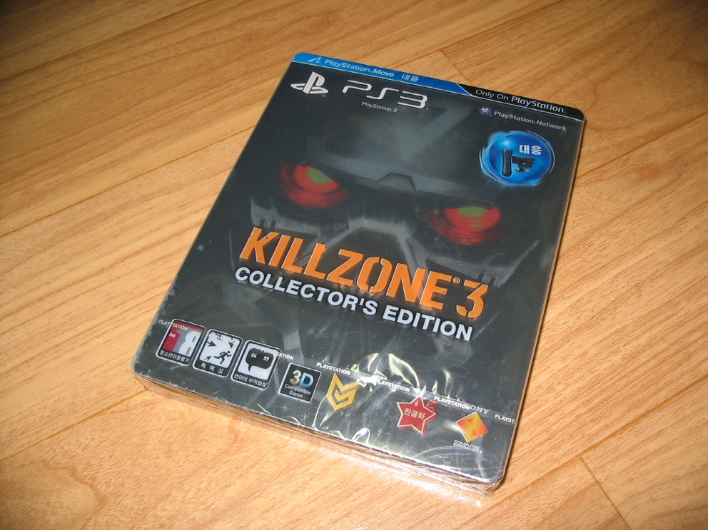 KILL ZONE3 OPEN CASE (Ver. KOR) (PS3)