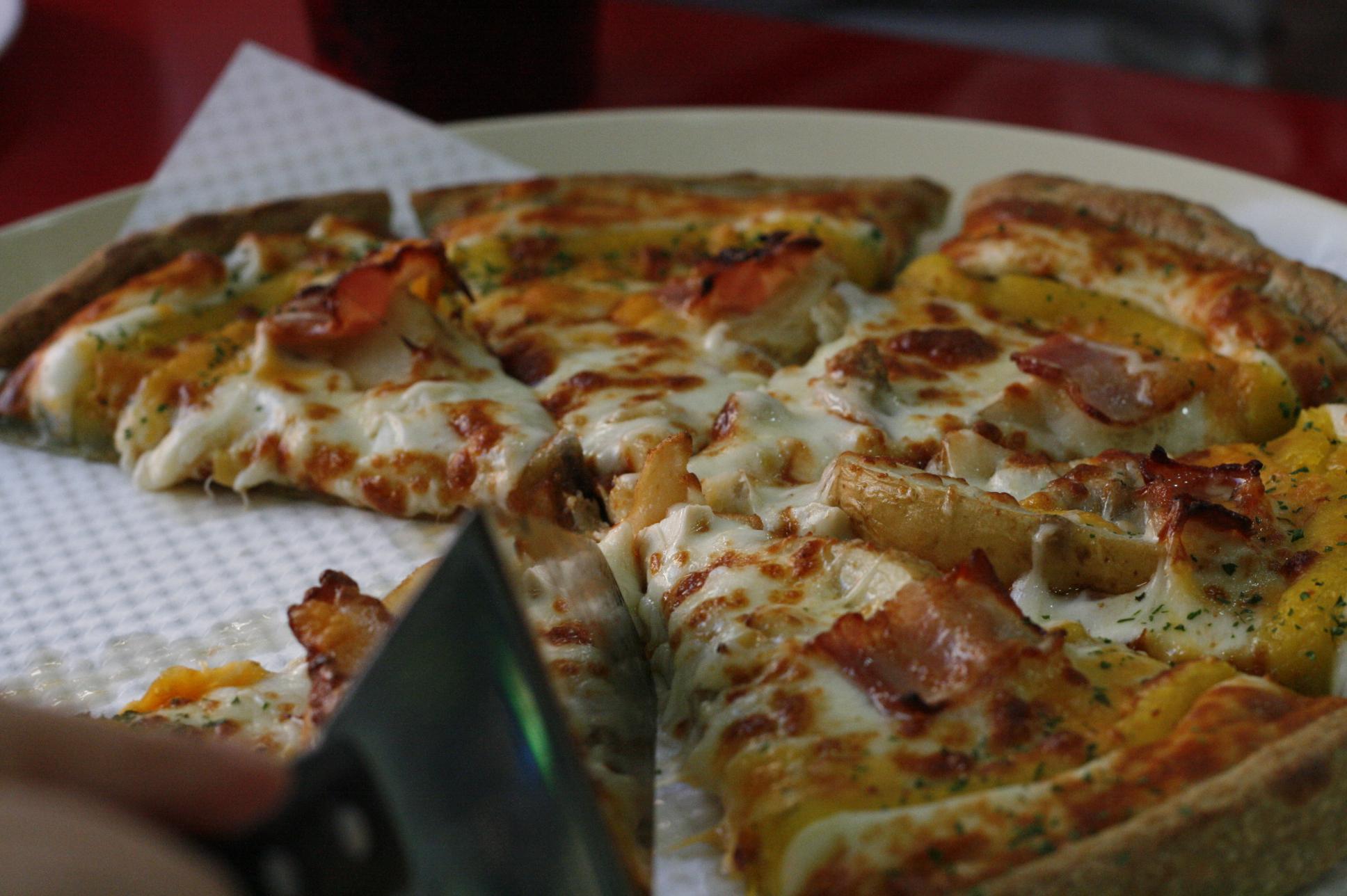 저녁 피자