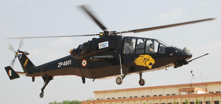 자국산 경공격헬기 65대를 도입하는 인도 공군