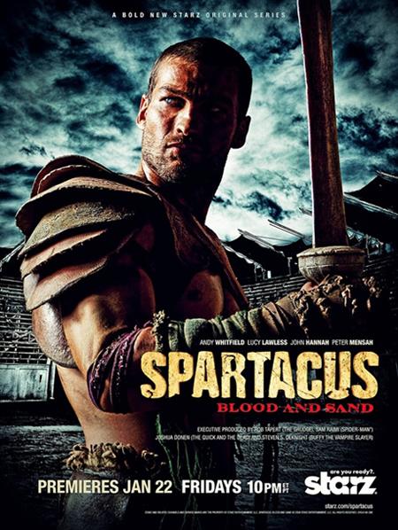 살육보다 징그러운 인간의 욕망 '스파르타쿠스'
