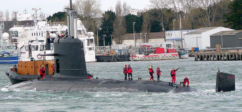 스코르펜 잠수함, 인도에 3년 늦게 인도된다.
