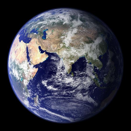지구의 본모습