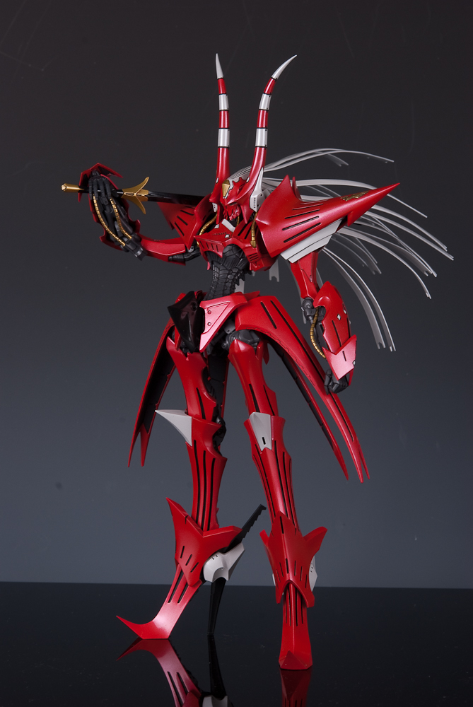 Volks 1/100 HSGK Red Phantom 개조완성작