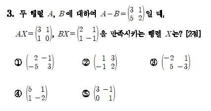[수능 D-29] 수학 문제집 풀면서 수리영역 적응하기