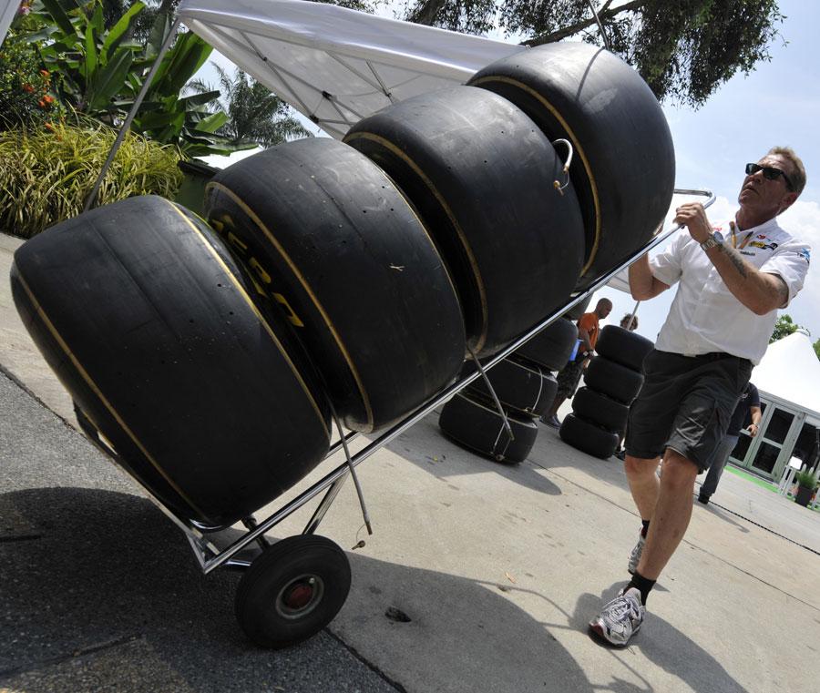 피렐리, 옵션 타이어에 줄을 긋기로 결정