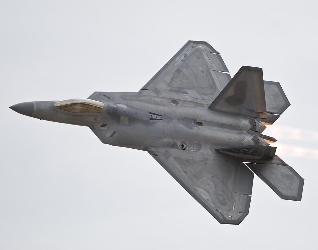 F-35의 스텔스 도료, F-22 랩터에도 적용된다.