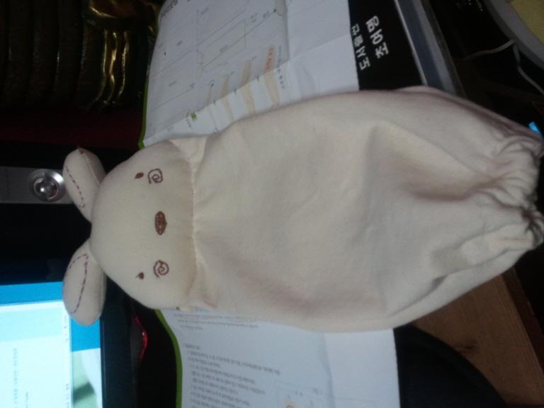 토끼 좁쌀베개