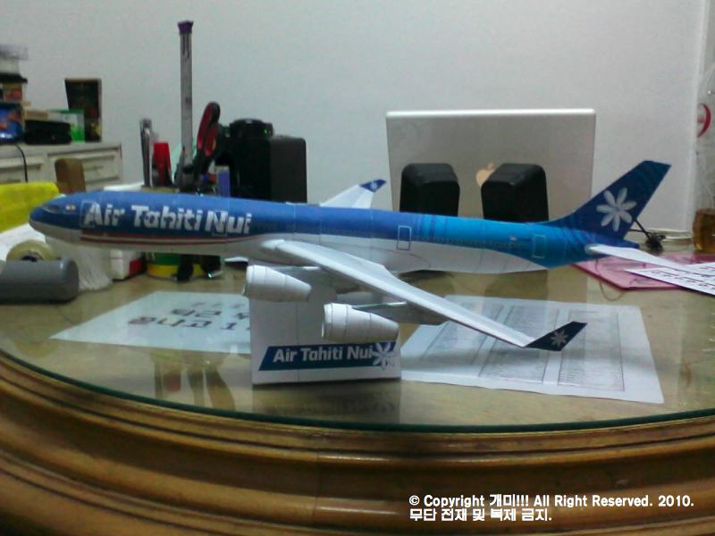 [쌈박한 뻬빠꾸라] Airbus 340-300 Air Tahiti Nui ..