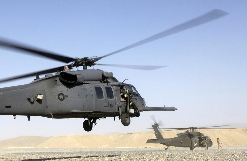 헬리콥터 도입사업 2개를 시작하는 미 공군