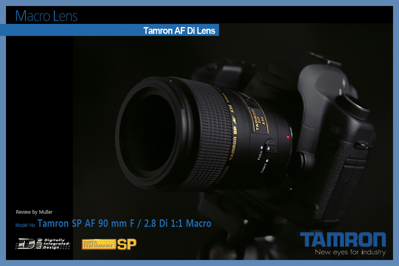 Tamron SP AF 90 mm F / 2.8 Di 1:1 Macro Review