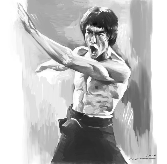 2011.5.4 Bruce Lee in Enter the Dragon