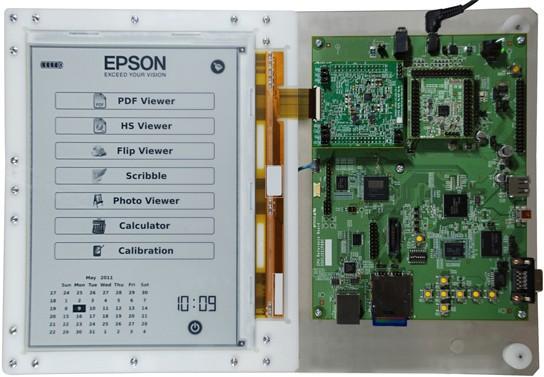 E-Ink, 엡손과 300ppi급 전자종이 개발 발표