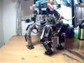 맷돌 과 맷돌28호 사용 RC 서보 로봇 4각 보행 - 324접..