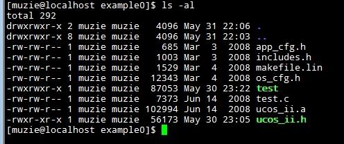 2011.05.31 MicroC/OS-II 작업 일지