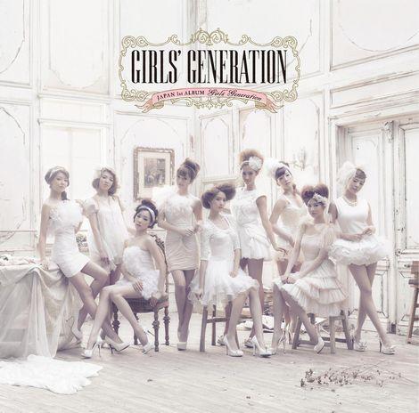 소녀시대 첫 앨범이 오리콘 주간 1위