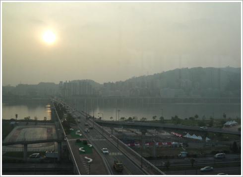 [서울한강 관광]  광진교의 야경과 스타시티의 야경