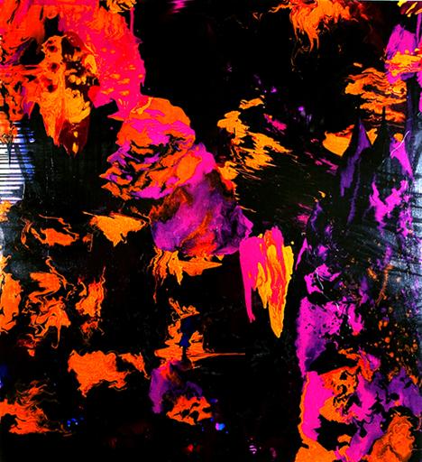 Rory McCartney 화려한 색상들과 기하학적인 무늬