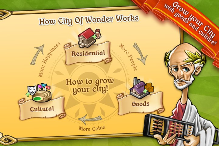 City of wonder mobile 리뷰