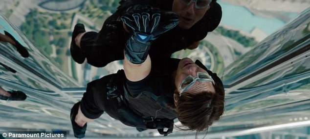 Mission: Impossible 4 - Ghost Protocol.....