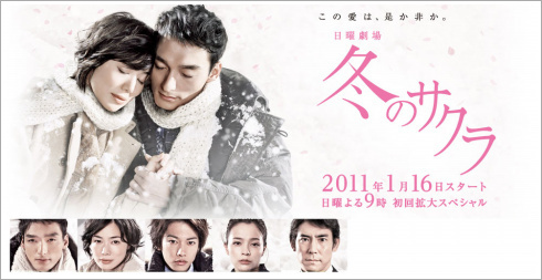 [드라마] 겨울의 벚꽃