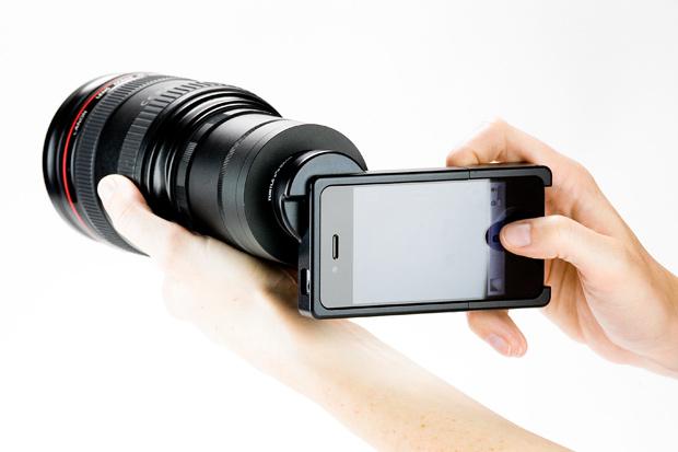 아이폰용 DSLR: iPhone SLR Mount
