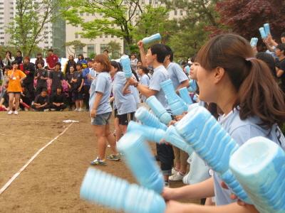 동남보건대학 물리치료과 들뜬 하루, 체육대회 ..