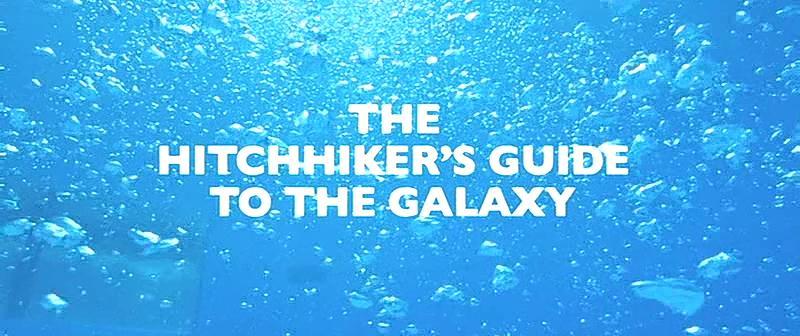 [영화] 은하수를 여행하는 히치하이커를 위한 ..