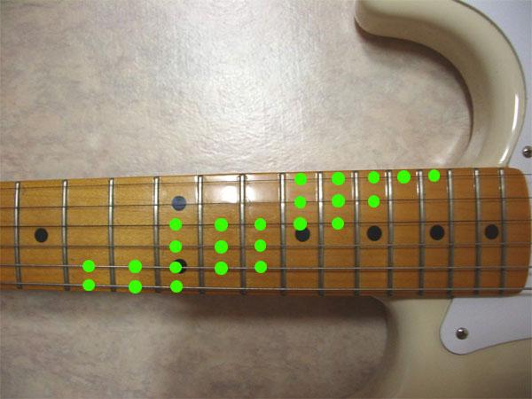(기타) 스케일(Scale) 연습 1-4 (속주연습)