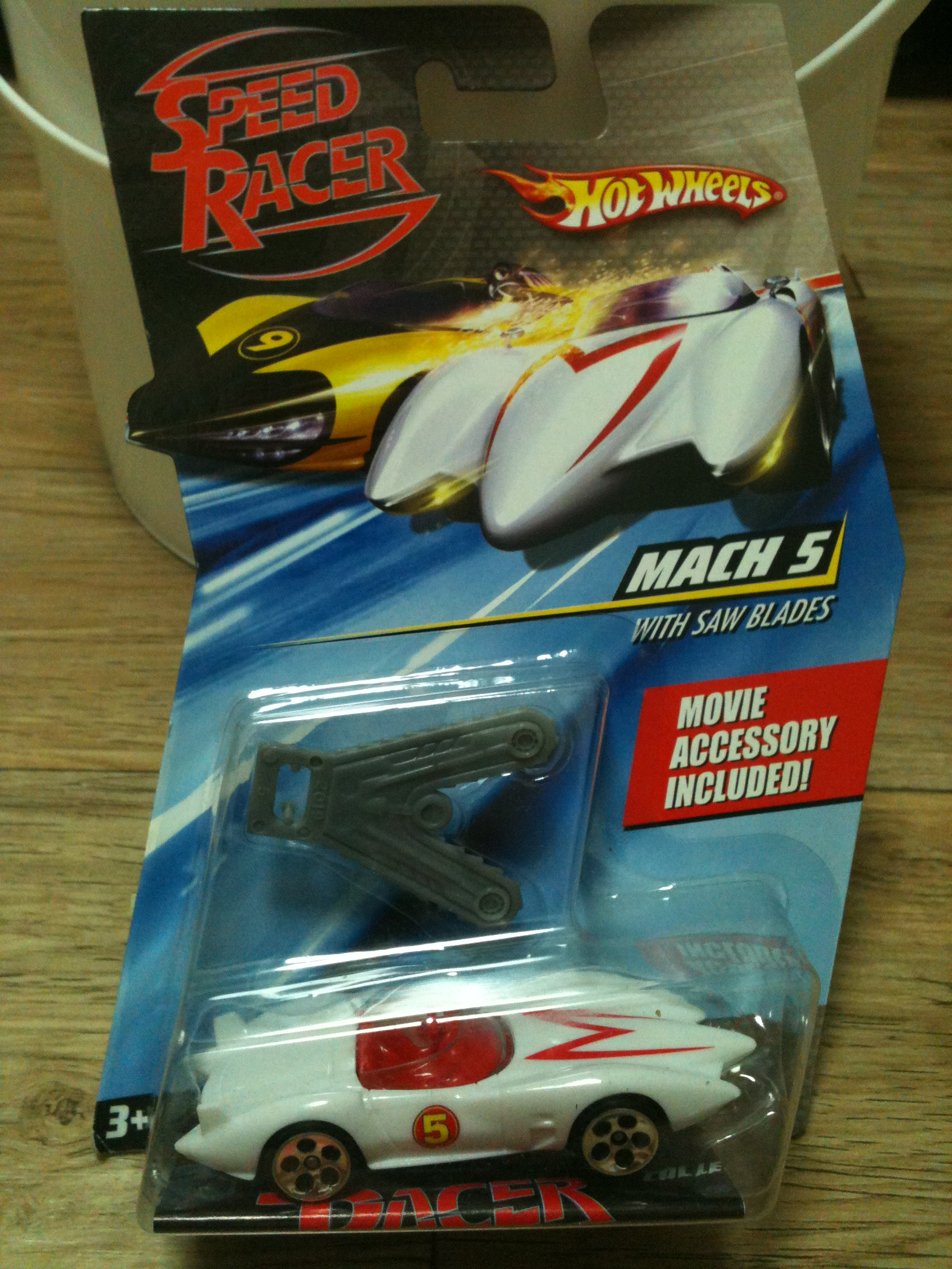 Speed Racer - Mach 5 - With Saw Blades