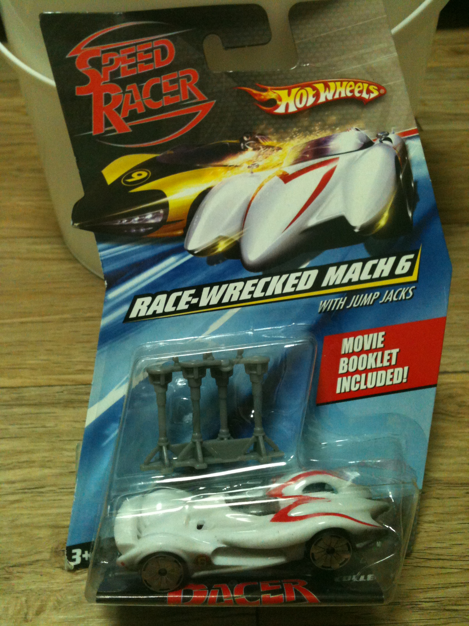 Speed Racer - Race-Wrecked Mach 6 - with ..