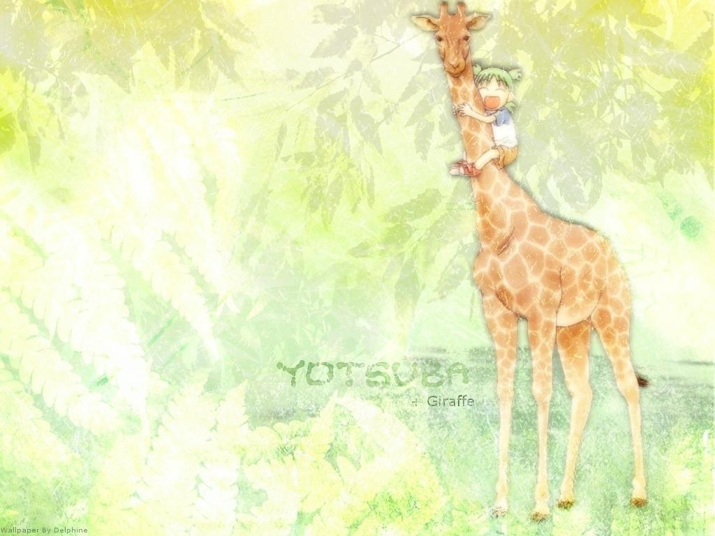 요츠바랑! Wallpaper