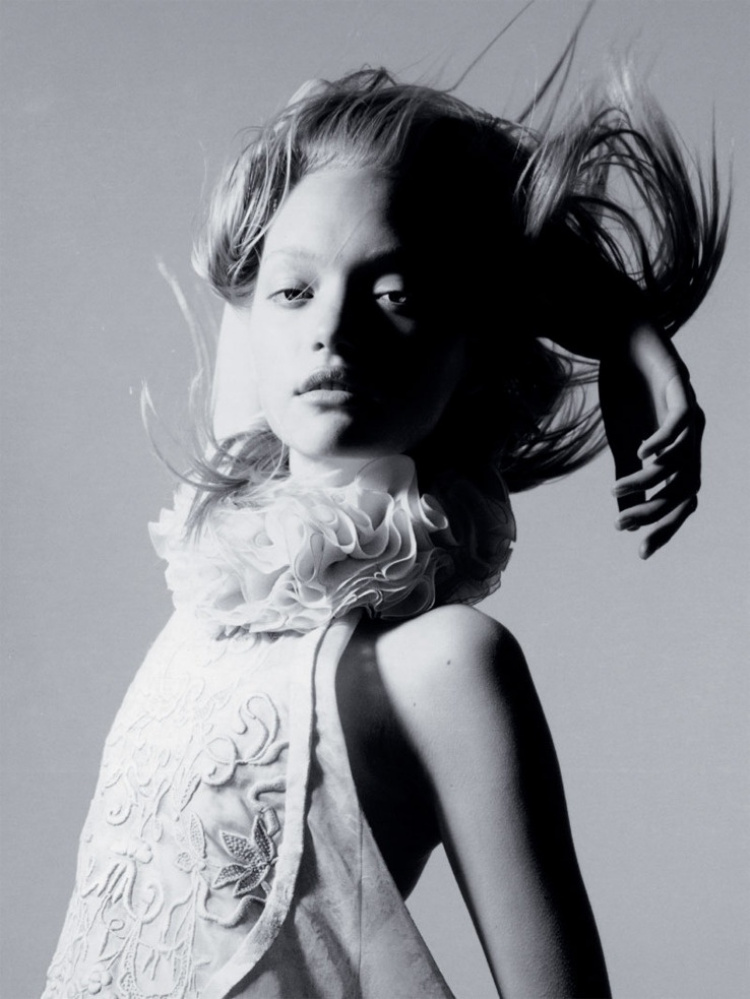 Gemma Ward by Nick Knight
